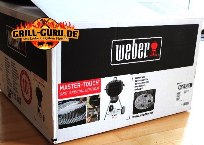 Weber Holzkohlegrill Master Touch Gbs 57 Cm Special Edition Pro : Weber master touch gbs special edition grill guru