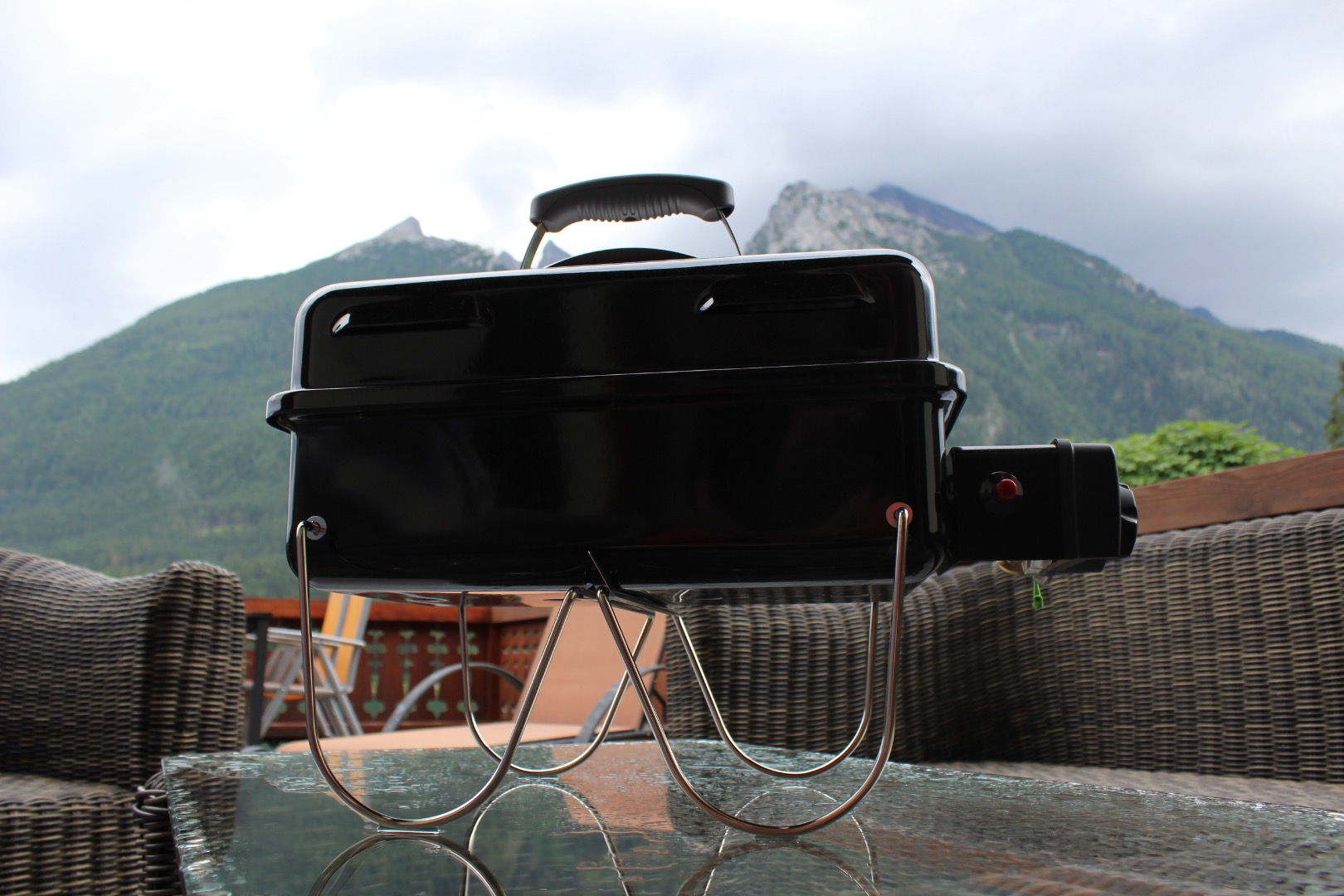 Weber Go Anywhere Gas –  der Test