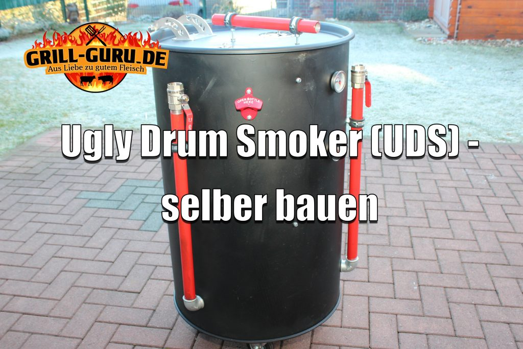 ugly drum smoker selber bauen grill. Black Bedroom Furniture Sets. Home Design Ideas